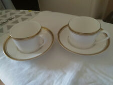 Royal Doulton Nescafe Gold Blend - Fine China Cup and Saucer x 2