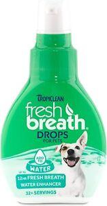 Tropiclean Fresh Breath Drops 59ml