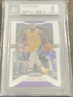 LeBron James 2019-20 Panini Prizm #129 Lakers NBA BGS 9 Mint w/3 9.5 Subs 🔥