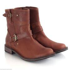 UGG Australia Block Heel 100% Leather Upper Shoes for Women