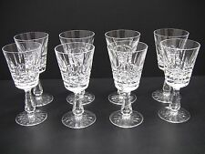 "Waterford Crystal Kylemore Claret Wine Glasses 6"" / Set of 8"