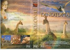 Vhs * Dinotopia * Aust Video Ezy Issue Forget Jurrasic Park, Dinotopia's Amazing