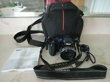 NIKON COOLPIX L810 16.1MP 26x Zoom HD Digital Camera Blue+Case+8GB SD Card+USB