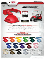 Club Car Precedent Golf Cart NEW Front & Rear Body Set  Available in 16 Colors