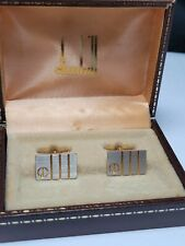 Vintage Dunhill, Two Tone, Gold and Silver plated - box