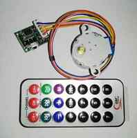 4-phase 5-wire Stepper Motor+Remote Control RC adjustable Speed +Driver Board