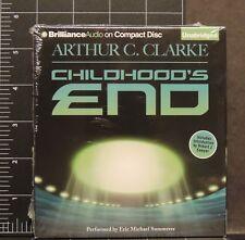 Childhood's End by Arthur C. Clarke Compact Disc CD Unabridged BrillianceAudio