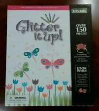 GLITTER IT UP Activity Kit - Creative Fun! Girl's Age 8 and up