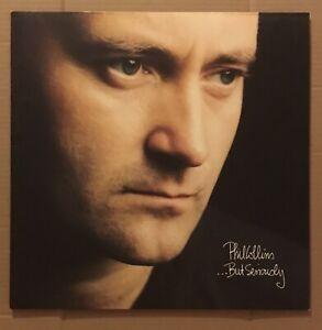 PHIL COLLINS - ...BUT SERIOUSLY LP ALBUM 1989 (NM / NM - EUROPE PRESS)