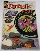 FANTASTIC FOUR #38  KIRBY CLASSIC FRIGHTFUL FOUR FN-