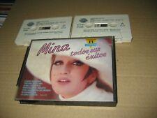 Mina Spanish 2 x Cassette Todos Sus Successes
