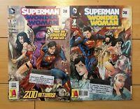 Superman / Wonder Woman - #1, #3 DC Comics 2013-2014 - The New 52! Good Used Con