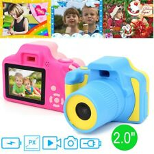 "Kids Children 2.0"" LCD HD Digital Camera Video Recorder Game Photo Toy Gift Blue"