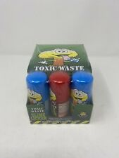 toxic waste slime licker sour liquid candy  sealed unopened 12 pack tik-tok