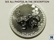 NobleSpirit No Reserve (Nc) 2020 Niue Year of Rat 1oz Silver Prooflike Coin