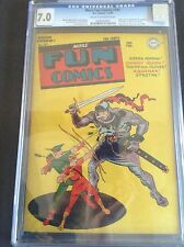 1st Appearance of Superboy - Rare Golden Age -  More Fun Comic #101