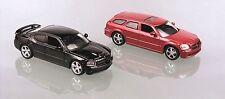 Coffret Dodge Charger noire + Dodge Magnum rouge 2006  - 1/64 NOREV
