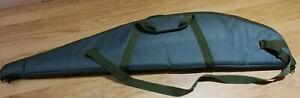 green padded rifle bag