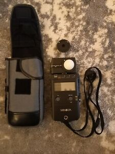 MINOLTA Flash Meter IV Exposure Light Meter Made in Japan