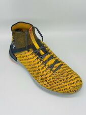 Under Armour UA Highlight Delta2 Size 14 Sneakers Shoes 1295731 932 Yellow Grey