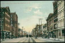Postcard Birmingham Ny Court Street West View 1907 ?