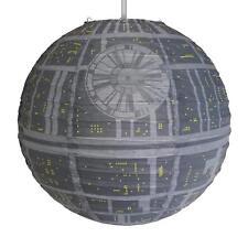 Star Wars Death Star Papier Chambre Abat-jour Lampe Décoration Enfants Adultes cover