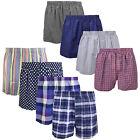 Falari 4-Pack Men's Boxer Underwear 100% Cotton Premium Quality