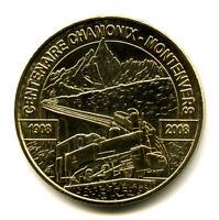 74 CHAMONIX 100 ans du Montenvers, 2008, Monnaie de Paris
