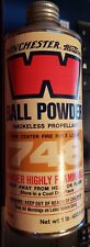 Winchester Western Ball powder smokeless propellant empty can - 748 - vintage