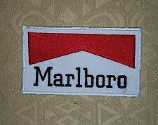 Vintage Marlboro Cigarette Repasser/ À Coudre Patch Brodé / Badge/ Logo