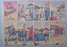 Lone Ranger Sunday Page by Fran Striker and Charles Flanders from 12/31/1939