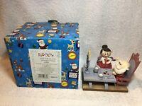 Enesco Rudolph & The Island of Misfit Toys 2001 Eat Poppa, Skinny Santa 875279
