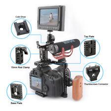 DSLR Camera cage for Nikon D7000,D7100,D7200,D300S,D610,Panasonnic GH5/GH4 Sony
