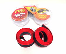 MR TUFFY ULTRA LITE BICYCLE TIRE LINER RED 700C NEW