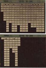 YAMAHA yzf-r6 _ Service Manual _ Microfich _ microfilm _ 1998