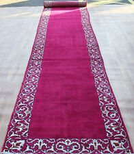 Traditional Vintage Wool Handmade Classic Oriental Area Rug Carpet 680 X 95 cm