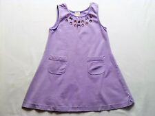 "Gymboree ""Glamour Safari"" Jewel Accented Purple A-Line Dress, 4"