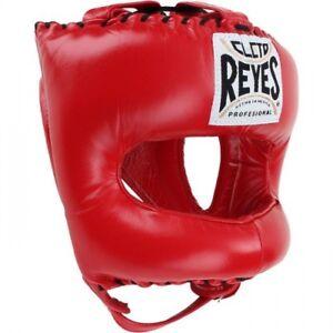 Gratis Cleto Reyes Boxen Kopfschutz Traditionell Spitz Nylon Gesicht Stange Rot