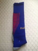 Fc Barcelona Football Socks. One Size To Fit 5-12 Years Old . Kids Sizes 2019/20