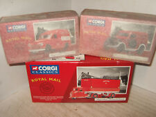 X3 Royal Mail Vehicles inc 15002 Scammell Scarab, 06503 Morris 1000 Van, Poplar