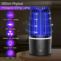 Electric Fly Bug Zapper Mosquito Insect Killer LED UV Light Lamp Trap Catcher