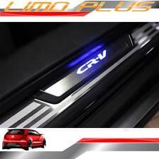 Illuminated Door Sill Scuff Plates Blue LEDs for HONDA CR-V CRV 12 - 16 bt16