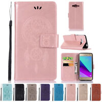For Samsung Galaxy J2 Prime SM-G532 Case Flip Wallet PU Leather Magnetic Cover