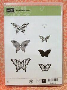 Stampin Up PAPILLION POTPURRI stamps NEW butterfly butterflies