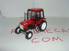 """MTZ-82 RedBlack Russian tractor """"Belarus"""" 1/43 scale model. Nowelty!"""