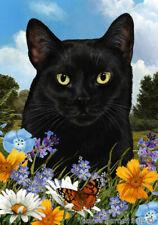 New listing Summer House Flag - Black Cat 18951