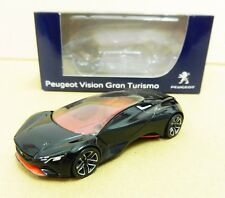 "Peugeot Vision Gran Turismo Noir 1/64 ""3 Inche"" Diecast NOREV Produit NEUF !!"