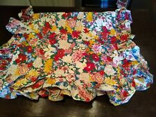 Extremely Rare Chinoiserie Floral Ralph Lauren King Size Pillow Shams