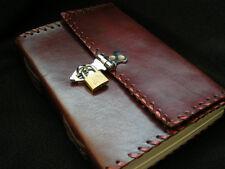 Verrouillable Cuir Secret Journal Carnet à Dessin Avec Cadenas - Cartouche