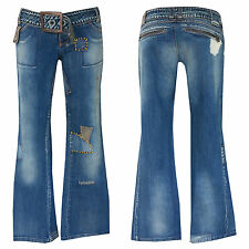 """70er Retro Style """"MISS SIXTY"""" Bootcut Jeans +w28-gr.34/36 """"MISS SIXTY"""" N. 34"""